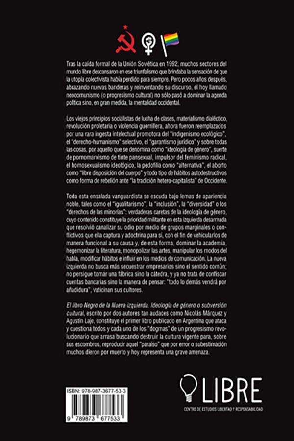 El Libro Negro De La Nueva Izquierda Ideología De Género O Subversión Cultural Unión Editorial